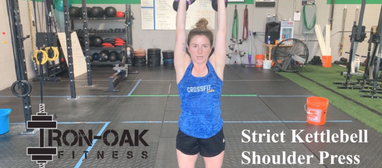 Strict KB Shoulder Press